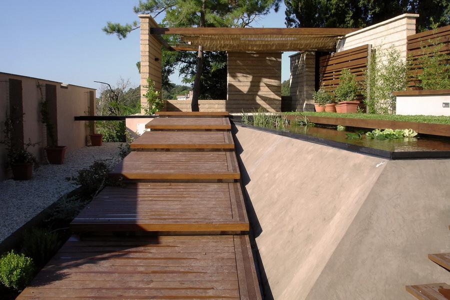 Ville giardini moderni for Giardini per ville moderne